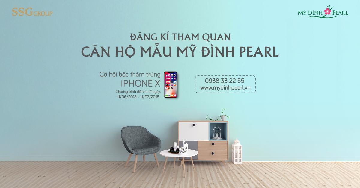 THAM QUAN CĂN HỘ MẪU - BỐC THĂM TRÚNG IPHONE X