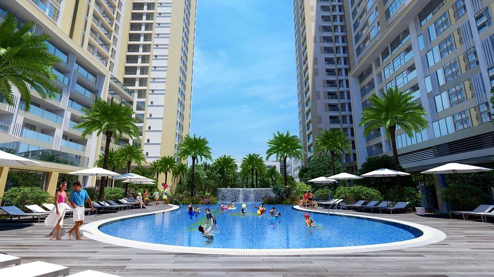 Mỹ Đình Pearl chung cư cao cấp có bể bơi, uớc mơ về một không gian sống trong lành