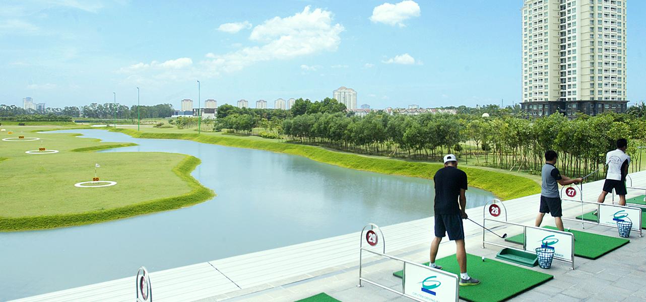 Chung cư có sân golf - tiêu chí để xếp hạng chung cư cao cấp tại Hà Nội
