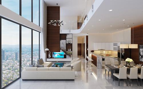 Hệ thống tiện ích ở tổ hợp căn hộ 2.400 tỷ đồng